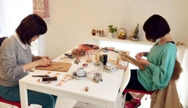 マクラメジュエリーとデコのお教室 アトリエnico*アピールポイント画像01